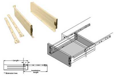 Kitchen Drawer Diagram