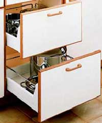 kitchen drawer - Pots and Pan Drawers