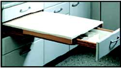 Kitchen Counter Top   Pull Out Drawer To Create Extra Counter Space And  Additional Cultery Drawer