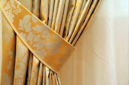 Matching Fabric Tieback
