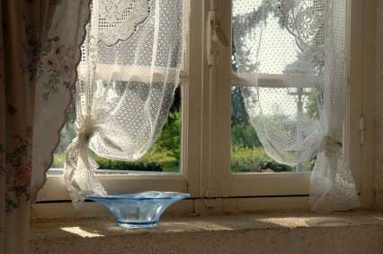 Casual Lace Country Curtains