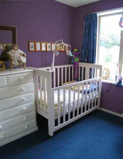 Nursery Wall Colors, Baby Bedroom Ideas, Baby Nurseries