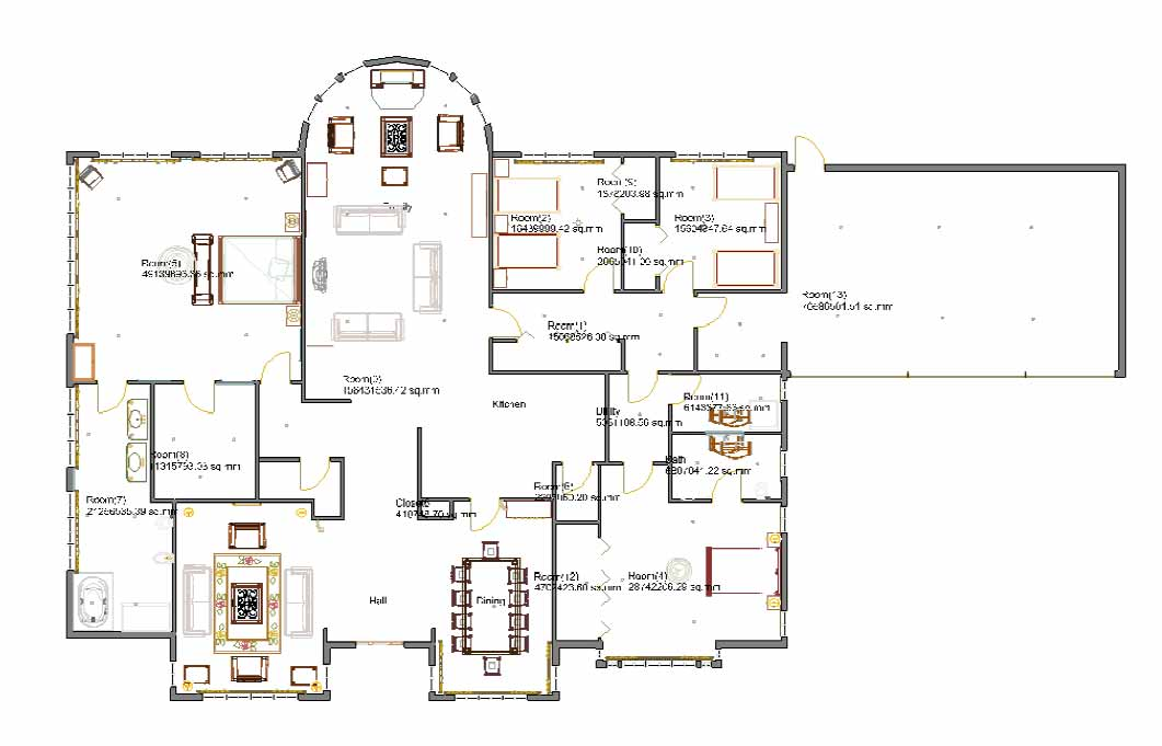 Planning a living room a step by step process using a bubble diagram planning a living room ccuart Image collections