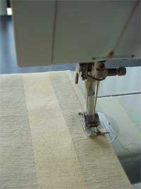 Top stitch fabric