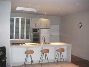 Kitchen renovation, a modern look.