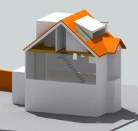 Loft attic space model