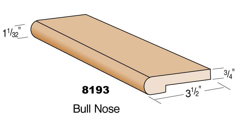 Example of bullnose