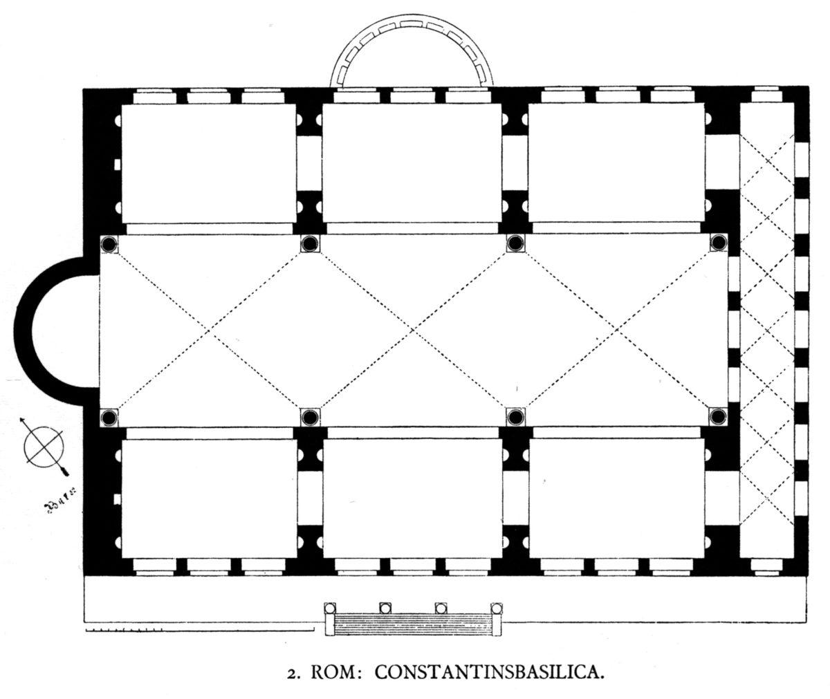 Basilica Floor plan
