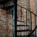 Spiral Staircase Brick Walls