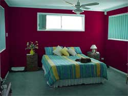 Painting Bedrooms Two Colors Vintage Living Room Wall Color With